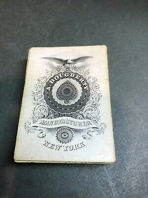 Civil War Era - Dougherty New York Excelsior Playing Cards - Full Deck