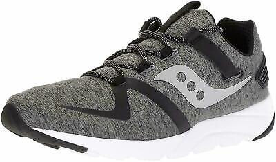 SAUCONY GRID 9000 Mod Men's Running Shoes Sneakers Grey Black, Pick A Size