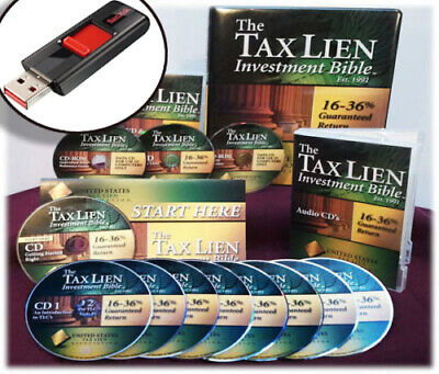 UNITED STATES TAX LIEN ASSOCIATION ~ Tax Lien Investment Bible Home Study Course