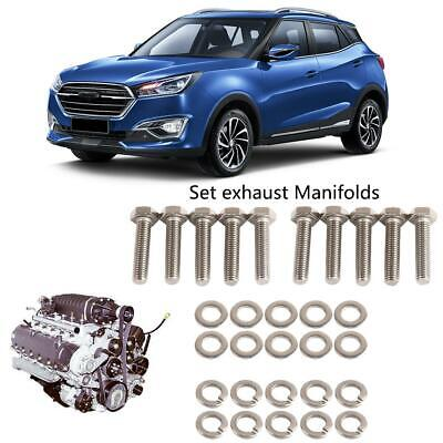 Stainless exhaust  MANI FOLD BOLTS exhaust   fits any V10For FORD 6.8 LITER V10