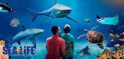 London Aquarium 4 tickets valid only for 12 January 2020 ( sunday)