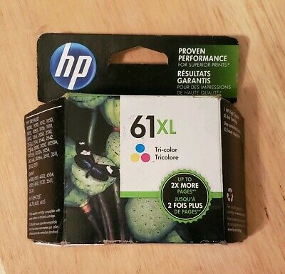 Free Shipping!! Genuine HP 61XL Tri-Color Original Ink Cartridge Expired 2016