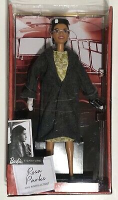 Mattel Rosa Parks Barbie Doll with Accessories (IN HAND) Inspiring Women Series