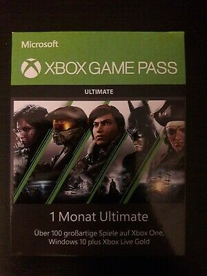 Xbox One Game Pass Ultimate (1 Monat / 1 Month)