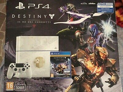 PS4 Console 500 GB Destiny - Il Re dei Corrotti Edition PLAY STATION 4 Bianca