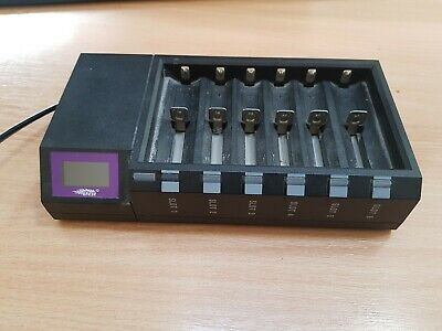 Efest Blu6 battery  Charger | 6 Bay | Bluetooth