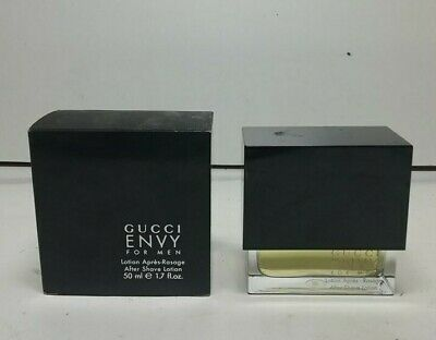Gucci Envy For Men  After Shave Lotion ( Splash) No Spray New & Rare