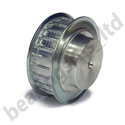 "12-XL-037F Imperial Pilot Bore Timing Pulley, 12 Teeth, 1/5"" Pitch, For A 3/8"" W"