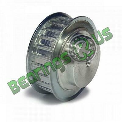 "14-XL-037F Imperial Pilot Bore Timing Pulley, 14 Teeth, 1/5"" Pitch, For A 3/8"" W"