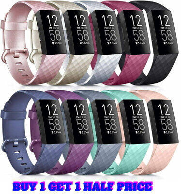 Fitbit Charge 3 Wrist Straps Wristbands Best Replacement Accessory Watch Bands