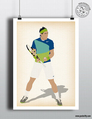 Best Tennis Player Sport Cartel Decor 10 Poster A3 Rafa Nadal Mejor Tenista