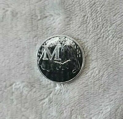 """Great British Coin Hunt 2018 Unc 10p """"M"""" Coin"""