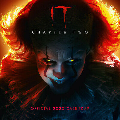 Official IT Chapter Two 2020 Calendar, Supernatural Horror Film Wall Decoration