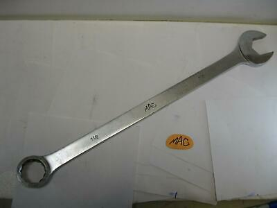 "Mac tools CL48 1-1/2"" SAE 12-Point Combination Wrench 22.5 in. long Super Nice!"