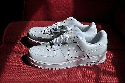 Nike Air Air force 1 '82 trainers sneakers new white 43 8,5 AF-1