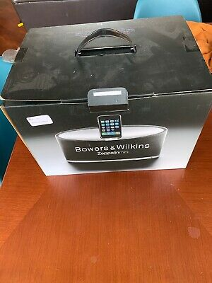 Bowers & Wilkins Zeppelin Mini Iphone/Ipod Docking Station/Speaker Boxed