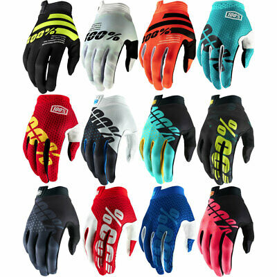 100/% iTrack MX Motocross Offroad Riding Gloves