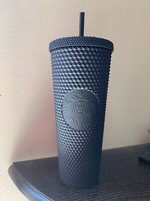 STARBUCKS MATTE BLACK STUDDED TUMBLER CUP LIMITED EDITION fall 2019 Brand new