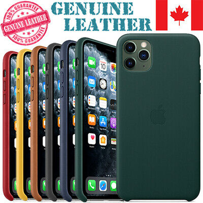 Original Quality Genuine Leather Cover Case For iPhone 11 Pro Max X XS XR 6 7 8