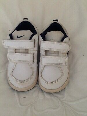 TDV Infant Toddler BOYS  Leather Trainers  454501-101 4.5-9.5 Nike Pico 4