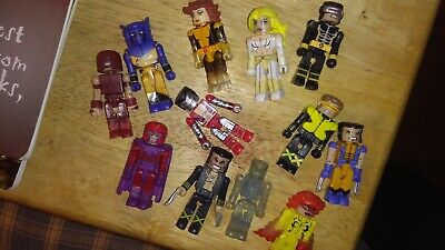 Marvel X-Men miniMates Wolverine and Iceman New in Box Collectibles RARE 2006