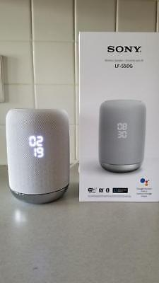 New Sony Smart Speaker LFS50G With Google Assistant Built In- White