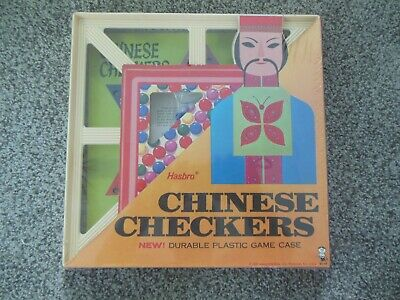 Vintage 1965 Hasbro Chinese Checkers Game New Unused Factory Sealed Mip Mib