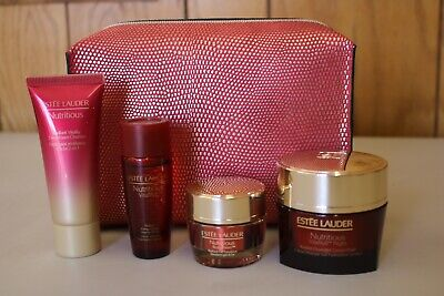 Estee Lauder Nutritious Day Detox And Glow  Kit With Travel Bag