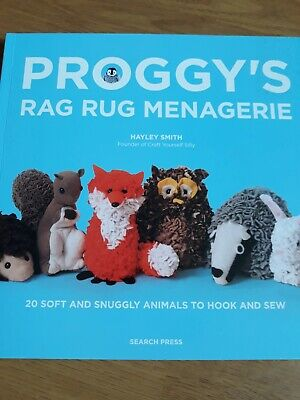 Proggy's  Rag Rug Menagerie Rug Making Animals Book