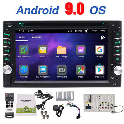 Double 2 Din GPS Touchscreen Stereo Android Car Radio Multimedia DVD Player WIFI