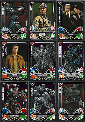 TRANSFORMERS Complete 32 Rare Foil Card Set - TOPPS