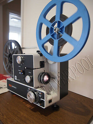 Eumig 610D Super 8 Std 8 Cine Movie Dual Format Film Projector Fully Serviced