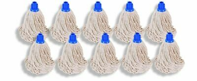 Traditional Heavy Duty Cotton Replacement Mop Head Push Socket Wet Floor