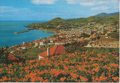 PC07604 Funchal. Madeira. Western View. Hans Huber. RP