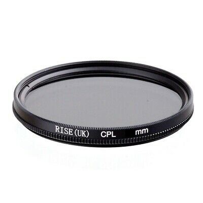 Rise(UK) 58mm CPL Cicular Polarizer Lens Filter for Canon Nikon Sony Olympus