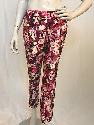 Beautiful New KATE SPADE Floral Capri Pants size 4 Sold Out!!
