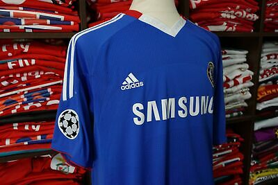 CHELSEA home 2010/11 shirt -TORRES #9 - Atletico Madrid-Spain-Liverpool-Jersey