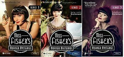 Miss Fisher's Murder Mysteries Seasons 1-3 Collection DVD TV Complete All Series