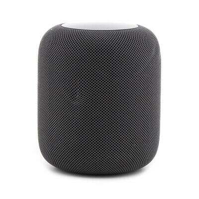 AS-IS Apple HomePod Smart Speaker - Space Gray - MQHW2LL/A *WON'T PAIR*