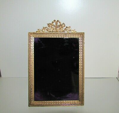 ANTIQUE FRENCH ORMOLU GILT BRONZE 19th C LARGE PICTURE FRAME7.75'' HEAVY QUALITY