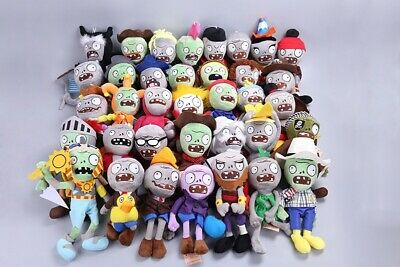 Plants vs Zombies PVZ Figures Plush Baby Staff Toy Stuffed Doll Gift 30cm NEW