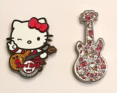 Hard Rock Cafe Las Vegas 2019 Hello Kitty Pins Limited Edition Both Sold Out