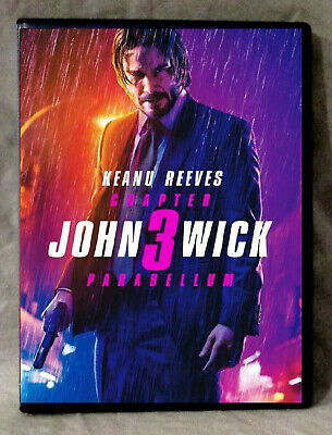 John Wick Chapter 3 - Parabellum (DVD 2019) Action/Thriller-Ships 1st Class Free