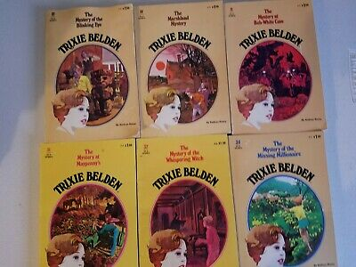 Kathryn Kenny Lot of 10 Trixie Belden Vintage Softcovers