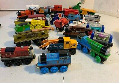 Thomas The Train Wooden Train Lot 25 Trains