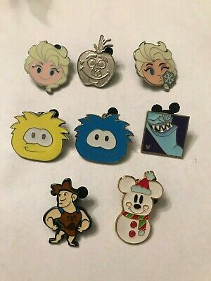 8 Disney Themed Pins Lot 512