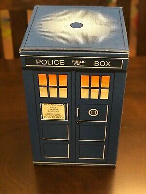 Doctor Who Loot Crate Cardboard Tardis and Comic
