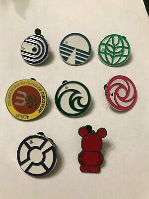8 Disney Themed Pins Lot 514