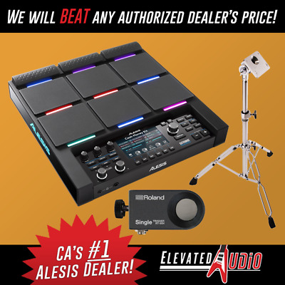 Alesis Strike MultiPad w/ RT-30H Single Zone Trigger & USED PDS-10 Stand!