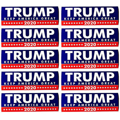 Donald Trump Bumper Sticker 2020 Keep America Great Free shopping